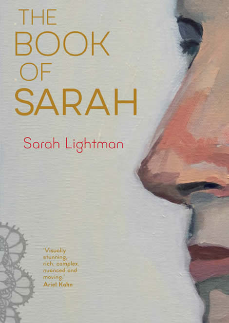 cover image of the book of Sarah by Sarah Lightman
